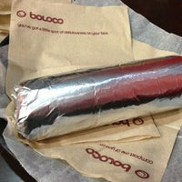 Photo taken at Boloco Cleveland Circle by Danny on 2/1/2013