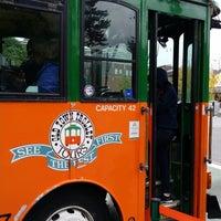 Photo taken at Old Town Trolley Tours of Boston by Monkey K. on 10/4/2014