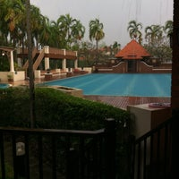 Photo taken at Q House Laddalom Swimming Pool by Alice _. on 4/13/2017