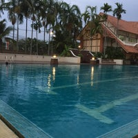 Photo taken at Q House Laddalom Swimming Pool by Alice _. on 5/5/2017