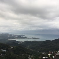 Photo taken at Jiufen lookout point by Alice _. on 12/9/2017