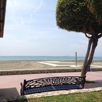 Photo taken at Playa El Candado by Alice _. on 4/23/2015