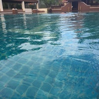 Photo taken at Q House Laddalom Swimming Pool by Alice _. on 6/12/2017