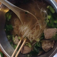 Photo taken at Pho Doan (Vietnamese Noodle & Grill) by Bryan M. on 4/6/2014