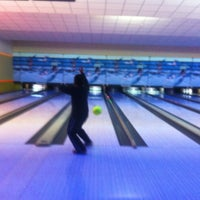 Photo taken at Cosmic Bowling by Ender Y. on 12/8/2012