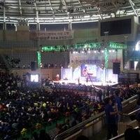 Photo taken at 안동시체육관 by Wongon K. on 9/19/2012