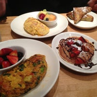 Photo taken at Wildberry Pancakes and Café by Nathalia C. on 2/17/2013