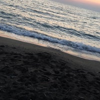 Photo taken at Casmin Otel Beach by Aysan C. on 6/26/2017