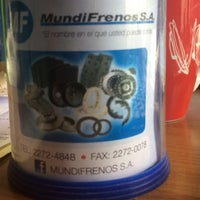 Photo taken at Mundifrenos by Silvia C. on 6/9/2014