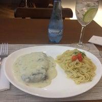 Photo taken at Restaurante Slaviero Executive Cuiabá by Anna P. H. on 8/13/2014