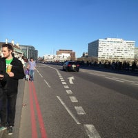 Photo taken at Westminster Bridge by Alessandro F. on 4/20/2013