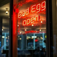 Photo taken at Bad Egg by Andria F H. on 5/3/2015