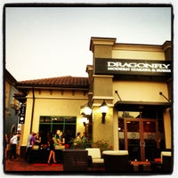 Photo taken at Dragonfly Robata Grill & Sushi by Trina D. on 10/18/2012