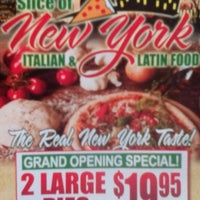 Photo taken at NYPD Pizza by Julio B. on 5/9/2014