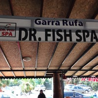Photo taken at Dr. Fish Spa by Sema Y. on 6/17/2014