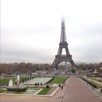Photo taken at Place du Trocadéro by Jonathan F. on 11/22/2012