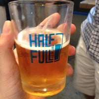 Photo taken at Half Full Brewery by Rachael L. on 6/8/2013
