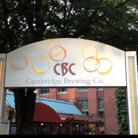 Photo taken at Cambridge Brewing Company by Dan O. on 6/1/2013