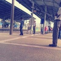 Photo taken at KTM Line - Bandar Tasik Selatan Station (KB04) by Ixxatuls on 7/3/2013