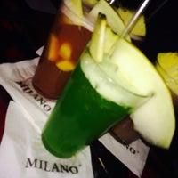 Photo taken at Milano Lounge Cafè by Veronica P. on 1/3/2014