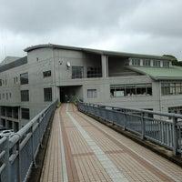 Photo taken at はさま未来館 by Kazushige O. on 8/26/2013