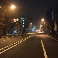 Photo taken at 一本橋 交差点 by hit n. on 3/7/2016