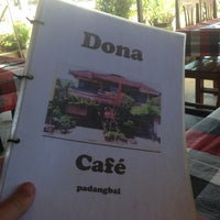 Photo taken at Dona Cafe by Tim W. on 3/20/2013