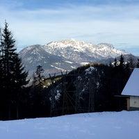 Photo taken at Jennerbahn Mittelstation 1200 m by Peter M. on 12/22/2014