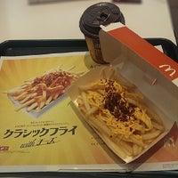 Photo taken at マクドナルド 国領マルエツ店 by Toshio H. on 2/25/2014