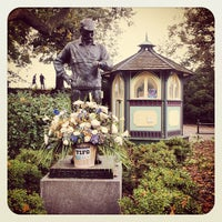 Photo taken at Central Park - Engineers' Gate by Nadia N. on 10/27/2012