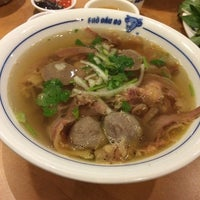 Photo taken at Pho Dau Bo Restaurant by Livia F. on 9/28/2014