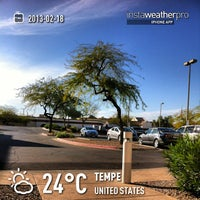Photo taken at Candlewood Suites Phoenix/Tempe by Bill T. on 2/18/2013