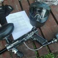 """Photo taken at Paintball park """"PIF PAF"""" by Māris Š. on 9/25/2016"""