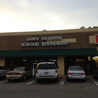 Photo taken at Sams St. Johns Seafood by Kelly E. on 3/19/2013