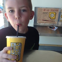 Photo taken at Which Wich? Superior Sandwiches by Mike G. on 4/13/2013