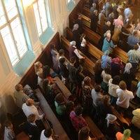 Photo taken at Церковь Рождества by Dennis S. on 8/25/2013