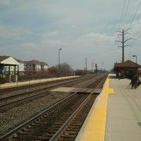 Photo taken at Metra BNSF - Route 59 by Evan B. on 4/17/2014