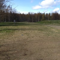 Photo taken at Tervaslahden frisbeegolfrata by Jari S. on 5/10/2014