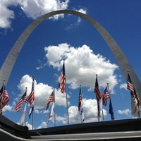 Photo taken at Gateway Arch by 💕Heather💕 on 6/28/2013