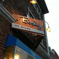 Photo taken at Bosley on Brady by Andrew M. on 3/9/2013