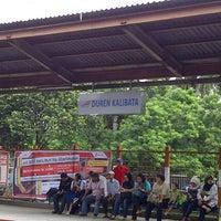 Photo taken at Stasiun Duren Kalibata by Afong R. on 6/19/2013