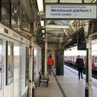 Photo taken at Upton Park London Underground Station by Slavomír S. on 3/11/2018