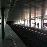 Photo taken at Metro =C= Vyšehrad by Slavomír S. on 11/3/2012