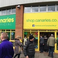 Photo taken at Canary Store @ Carrow Road by Slavomír S. on 2/13/2016