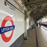 Photo taken at Upton Park London Underground Station by Slavomír S. on 9/10/2016