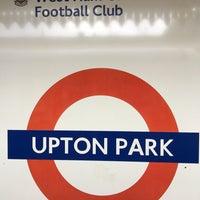 Photo taken at Upton Park London Underground Station by Slavomír S. on 3/18/2017