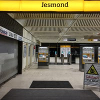 Photo taken at Jesmond Metro Station by Slavomír S. on 1/16/2016