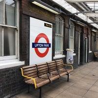 Photo taken at Upton Park London Underground Station by Slavomír S. on 5/5/2017