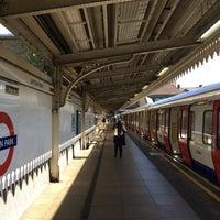 Photo taken at Upton Park London Underground Station by Slavomír S. on 9/30/2017