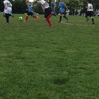 Photo taken at Coon Rapids Soccer Complex by Erin Skold P. on 7/1/2014